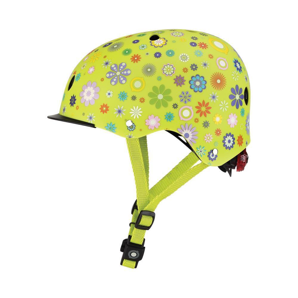 Casco Globber Helmet Elite Lights Lime Xs/S image number 1.0