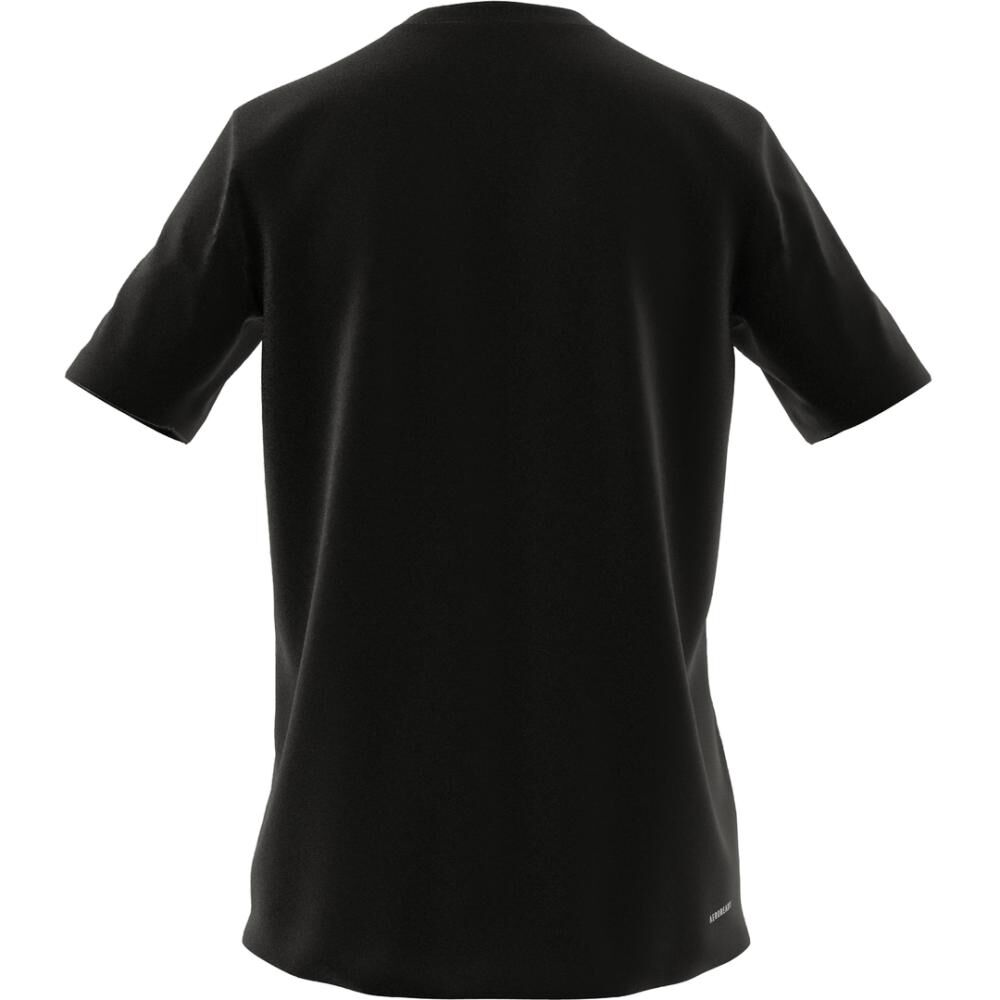 Polera Hombre Adidas D2m Feelready image number 6.0