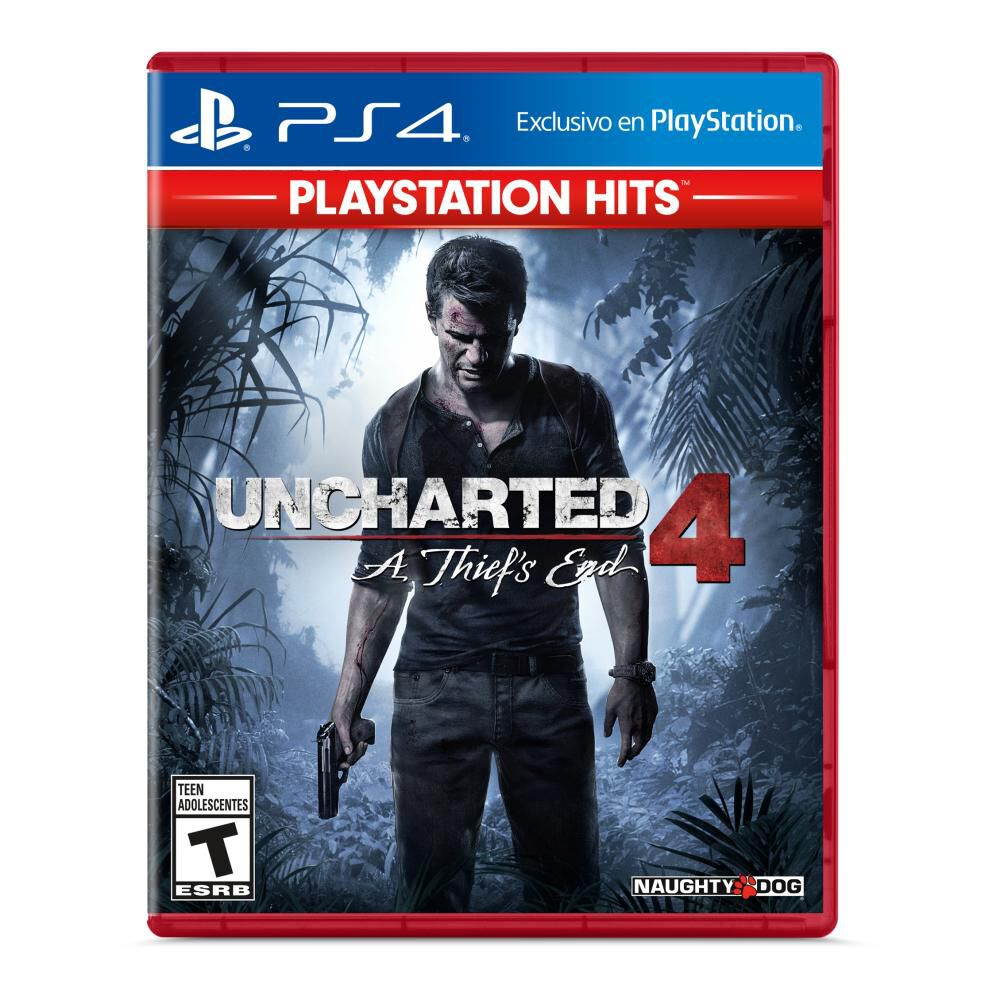 Juego Ps4 Uncharted 4 image number 0.0
