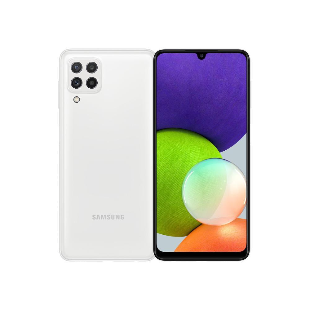 Smartphone Samsung Galaxy A22 Blanco / 128 Gb / Liberado image number 0.0
