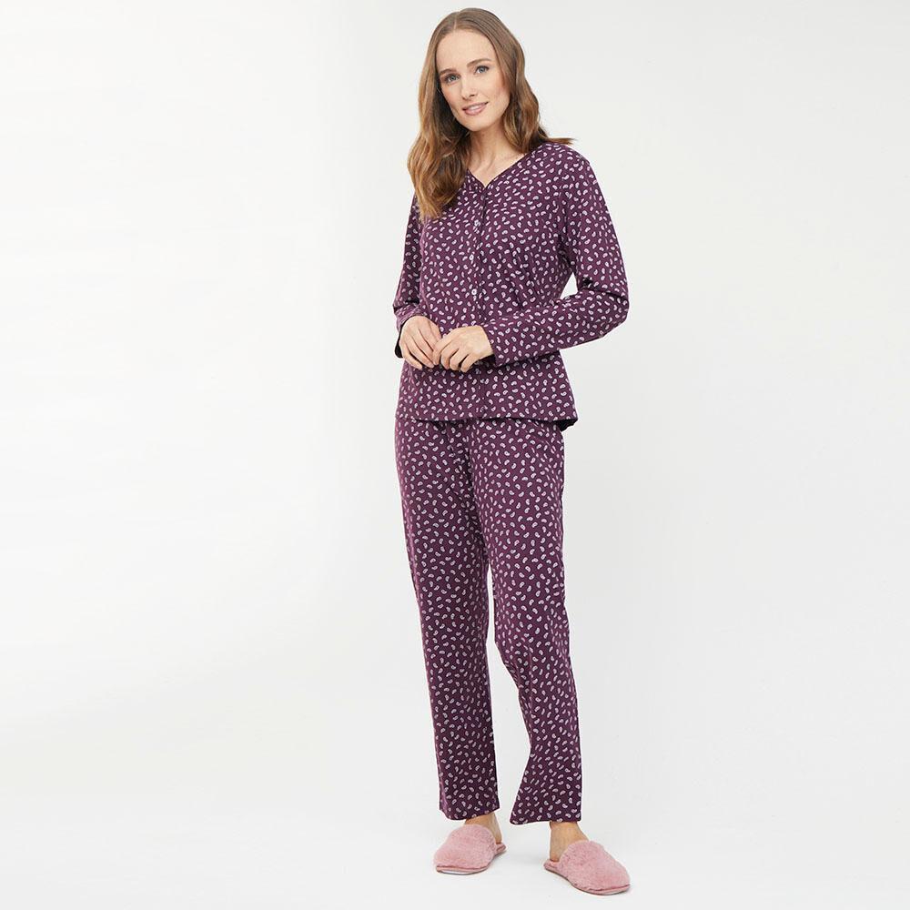 Pijama Algodón Mujer Lesage image number 1.0