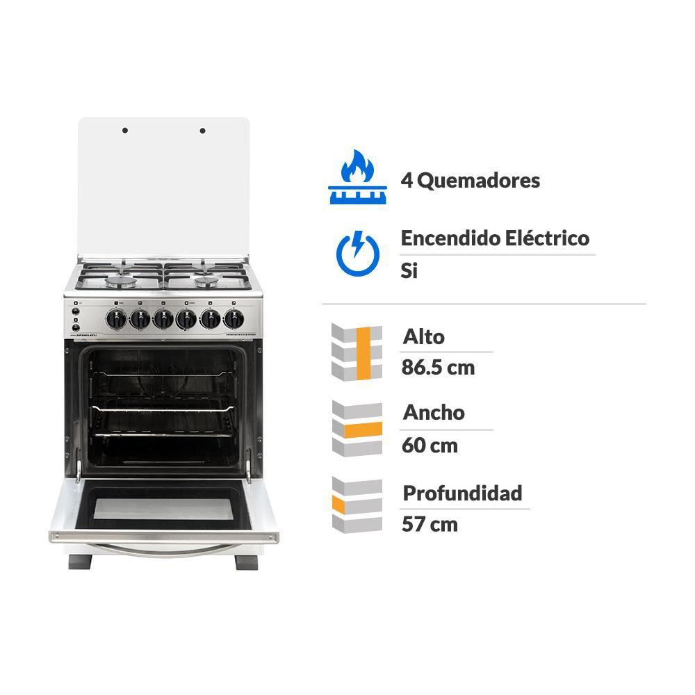 Cocina Sindelen CH-6700IN / 4 Quemadores image number 4.0