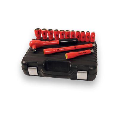 Juego De Dados X-spark 1/2 10-32mm Aislado 1000v X