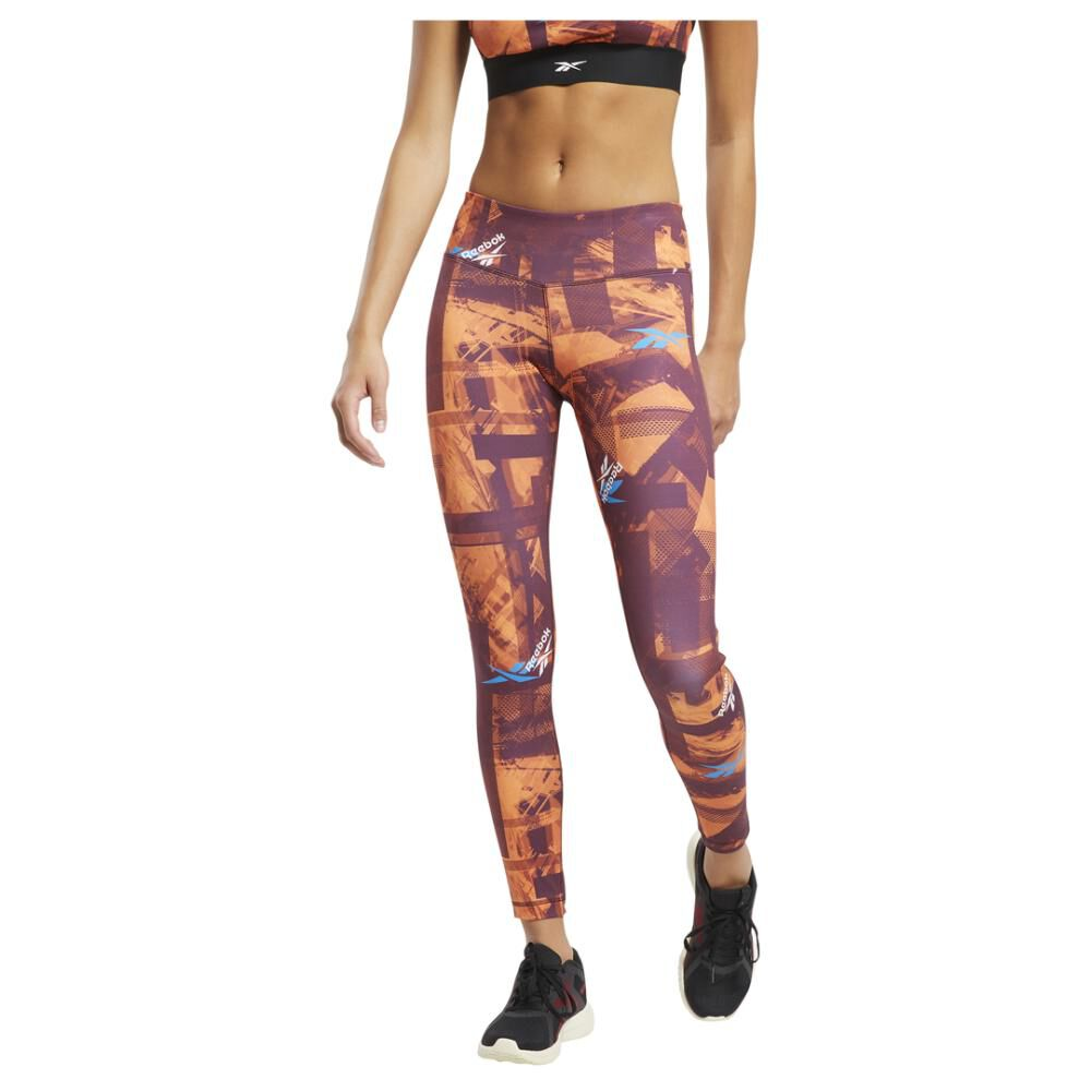 Calza Mujer Reebok Workout Ready Myt New Aop image number 0.0