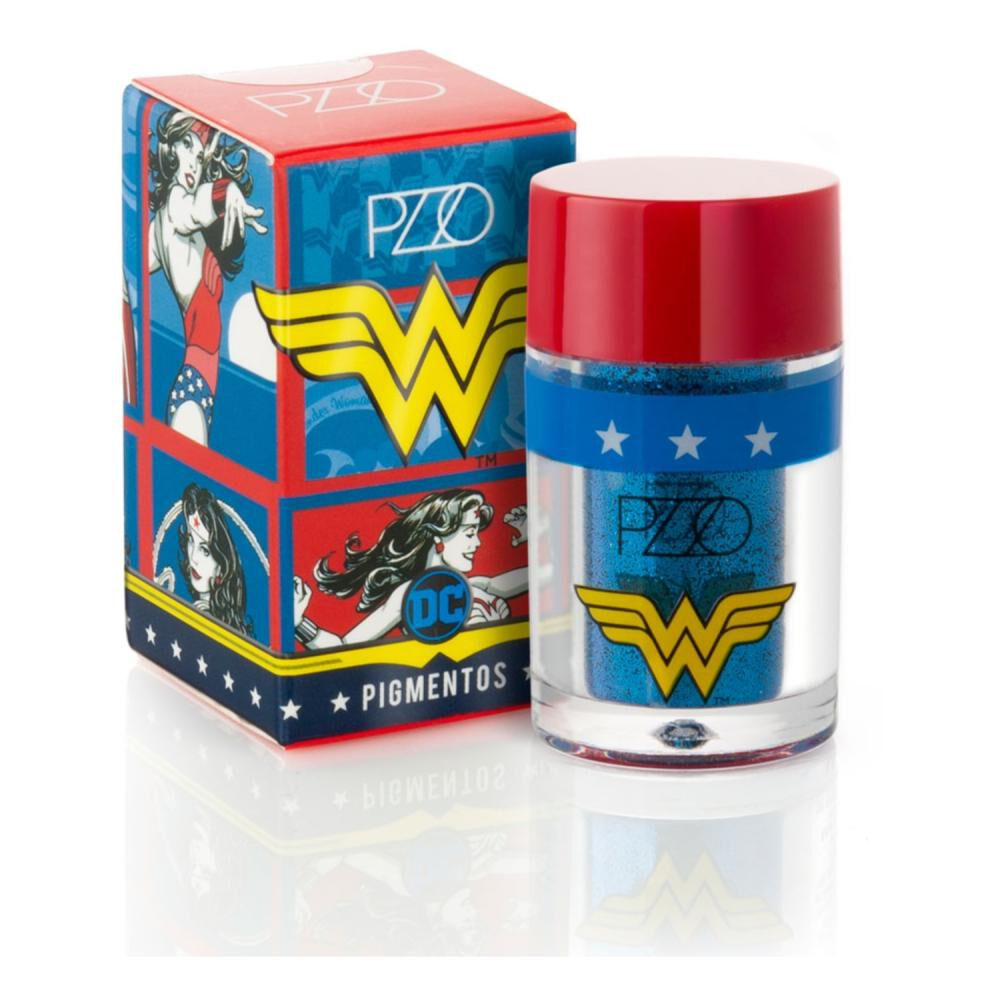 Pigmentos Blue 2,5 Gr Wonder Woman image number 0.0