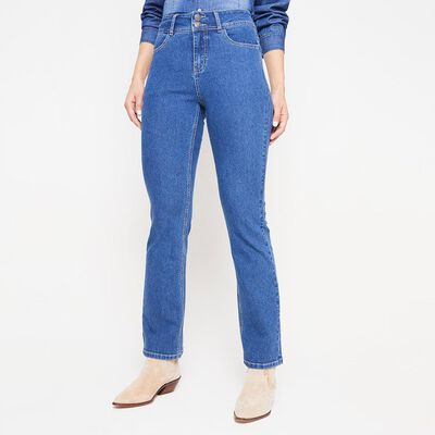 Jeans Mujer Tiro Alto Regular Geeps
