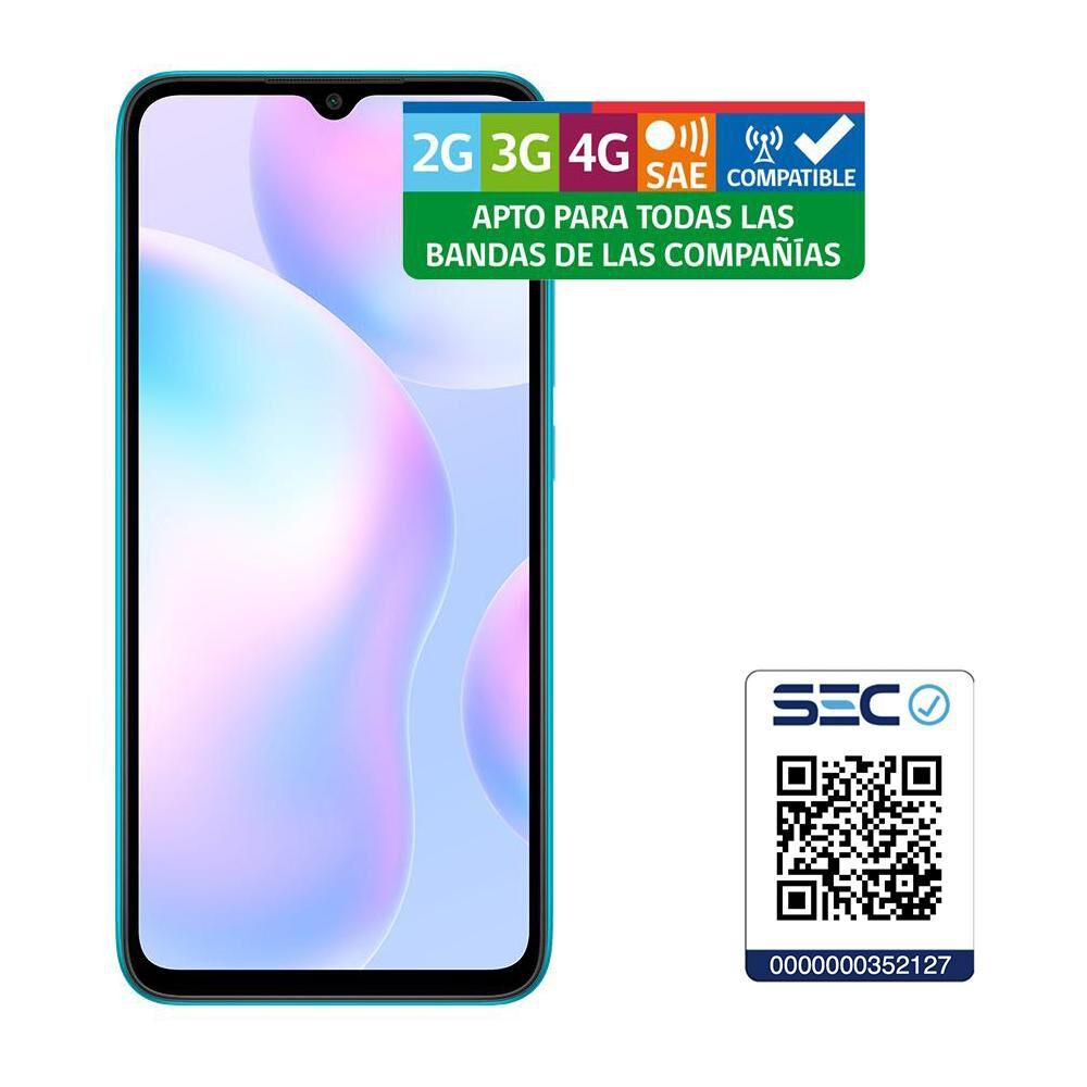Smartphone Xiaomi Redmi 9a Eu Peacock Green / 32 Gb / Liberado image number 2.0