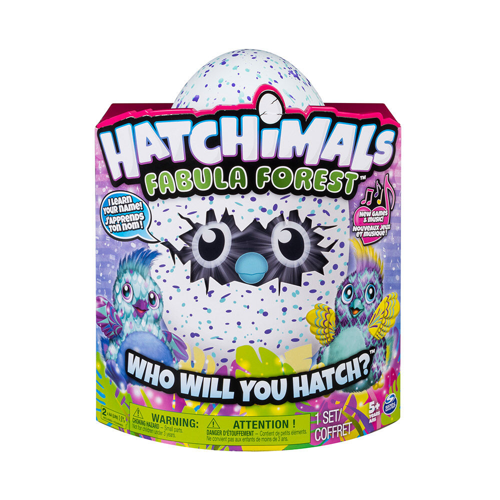 Juguete Hatchimals Fabula Forest Puffatto image number 1.0