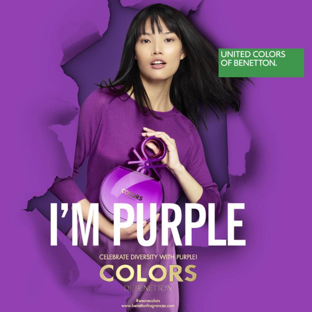 Perfume Colors Purple Woman Benetton / 80 Ml / Edt image number 5.0