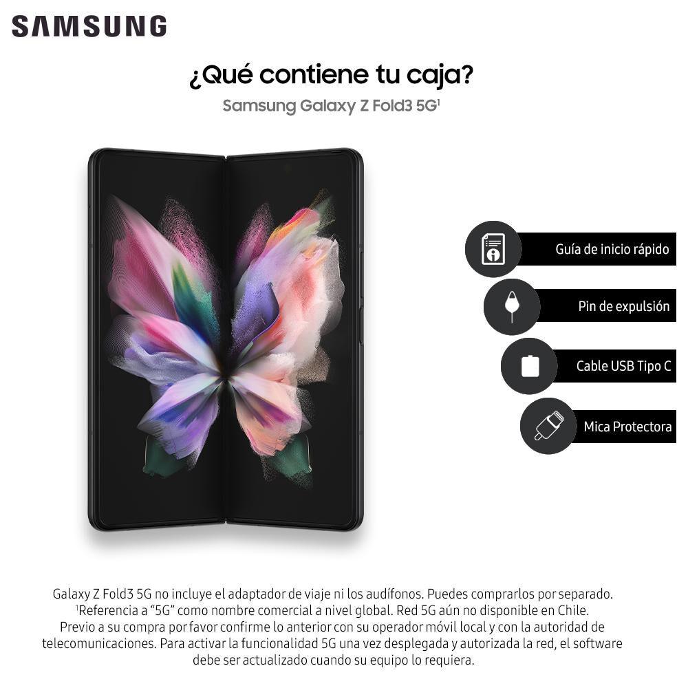 Smartphone Samsung Galaxy Z Fold 3 Negro / 256 Gb / Liberado image number 8.0