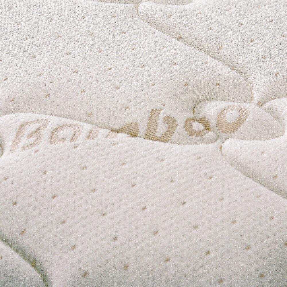 Cama Europea Celta Bamboo / 2 Plazas / Base Dividida  + Set De Maderas + Textil image number 4.0