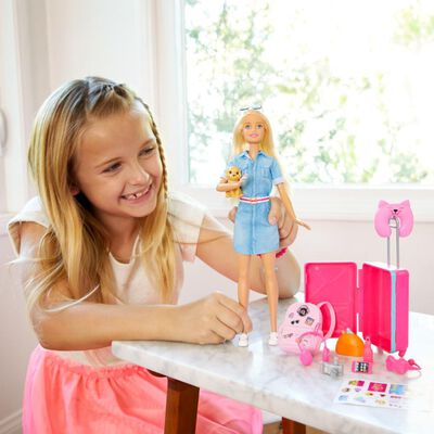 Barbie Explora Y Descubre Muñeca Viajera