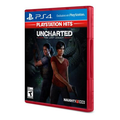 Juego Play Station 4 Hits Uncharted Lost Legacy