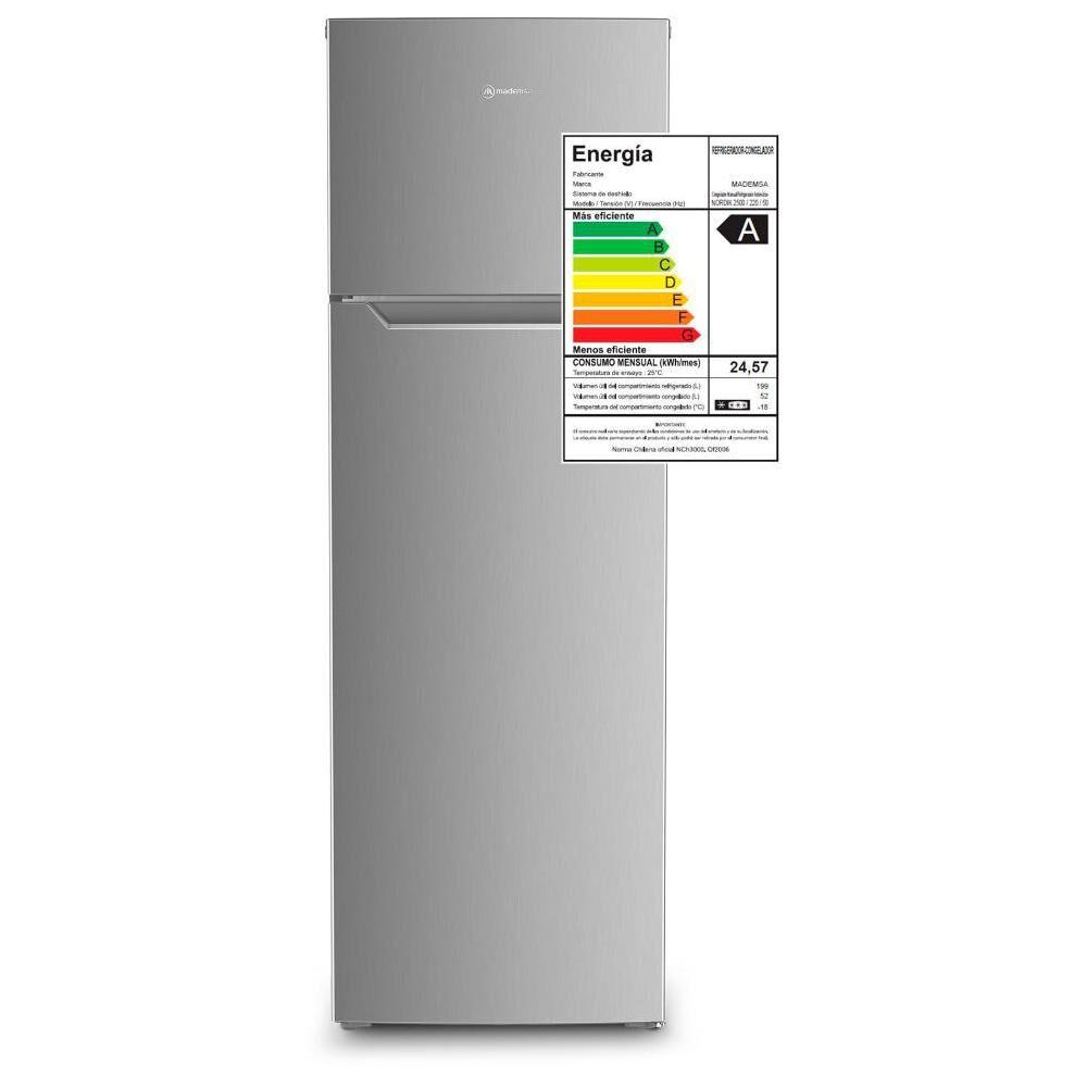 Refrigerador Mademsa Nordik 250 / Frío Directo / 251 Litros image number 5.0
