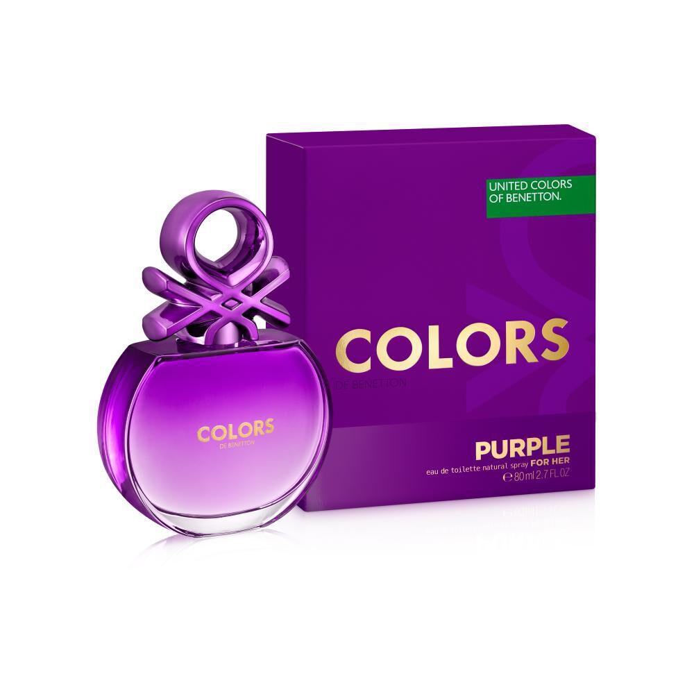 Perfume Colors Purple Woman Benetton / 80 Ml / Edt image number 1.0