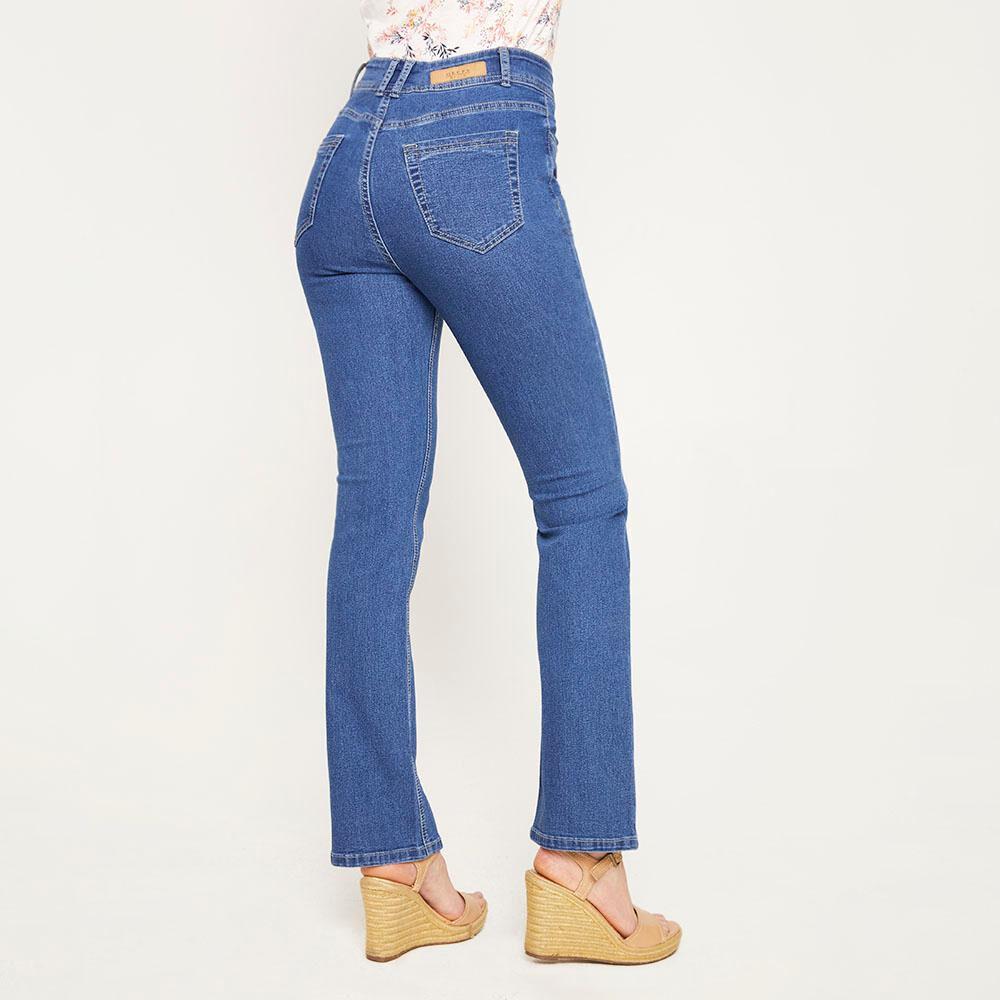 Jeans Mujer Tiro Alto Regular Geeps image number 2.0