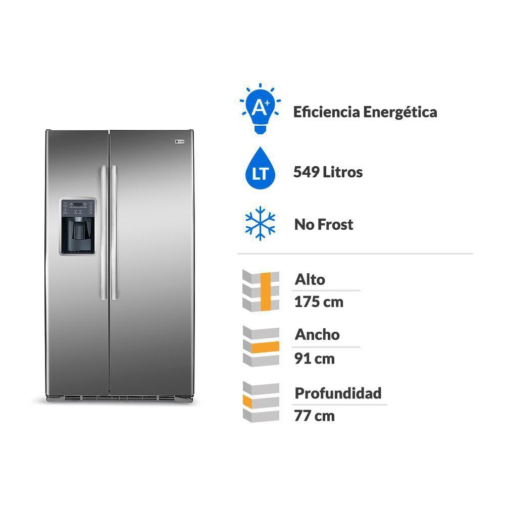 Refrigerador Side By Side GE GRC22LFKFSS / No Frost / 549 Litros image number 1.0