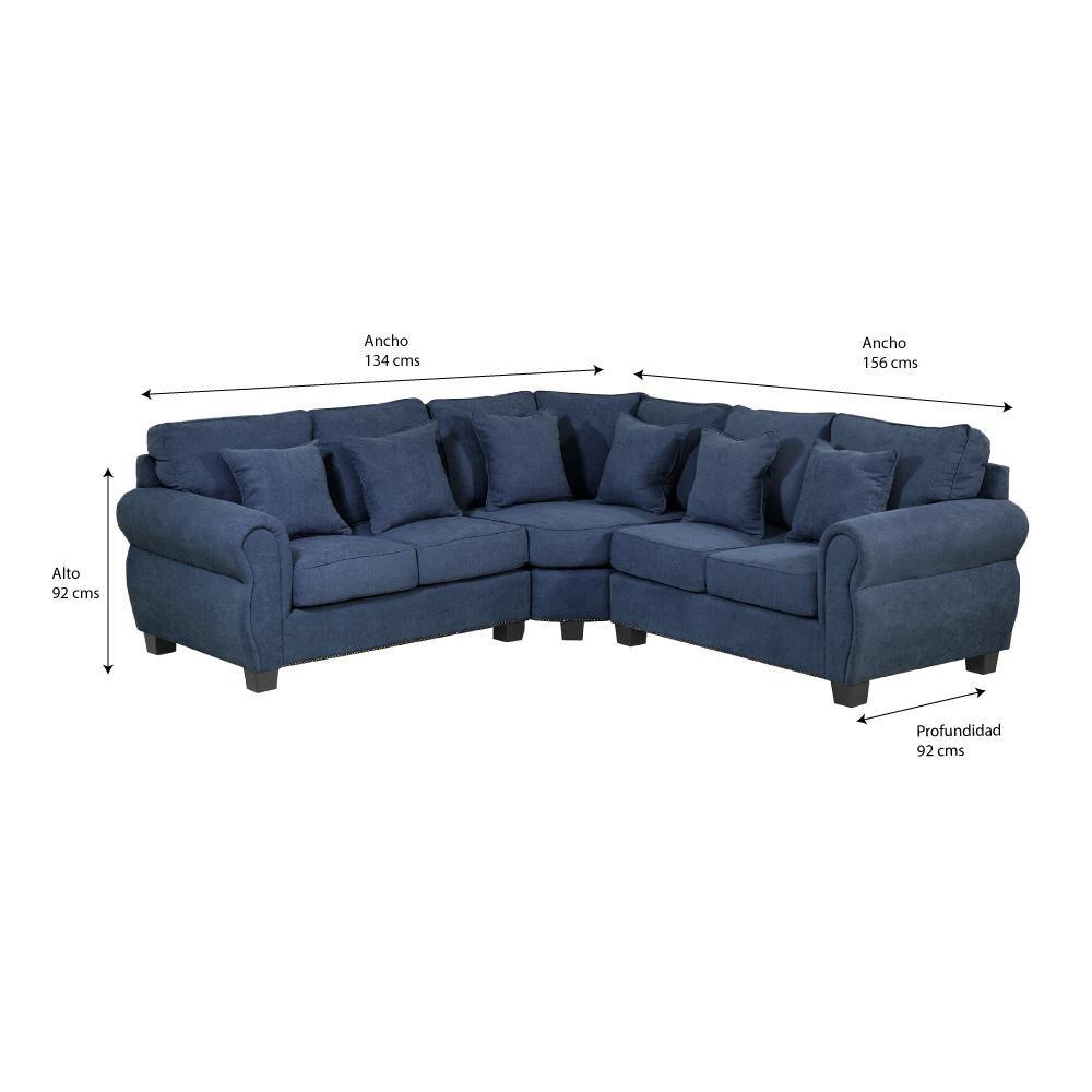 Sofa Seccional Innova Mobel Gales image number 5.0