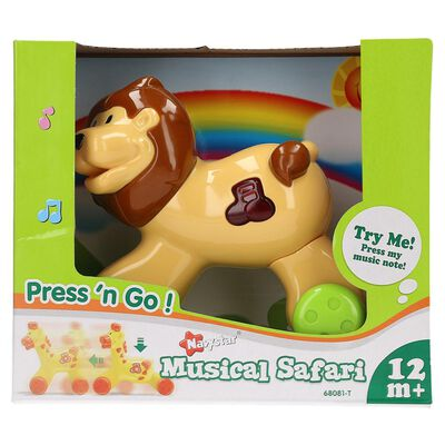 68081-T Press N Go Safari Musical