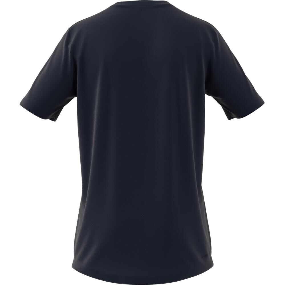 Polera Hombre Adidas Aeroready Designed To Move Sport 3 Bandas image number 1.0