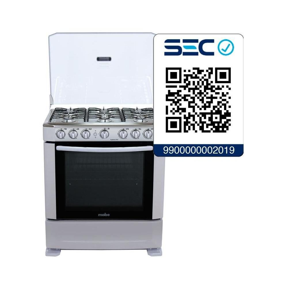 Cocina Mabe ANDES76HG0 / 6 Quemadores image number 6.0