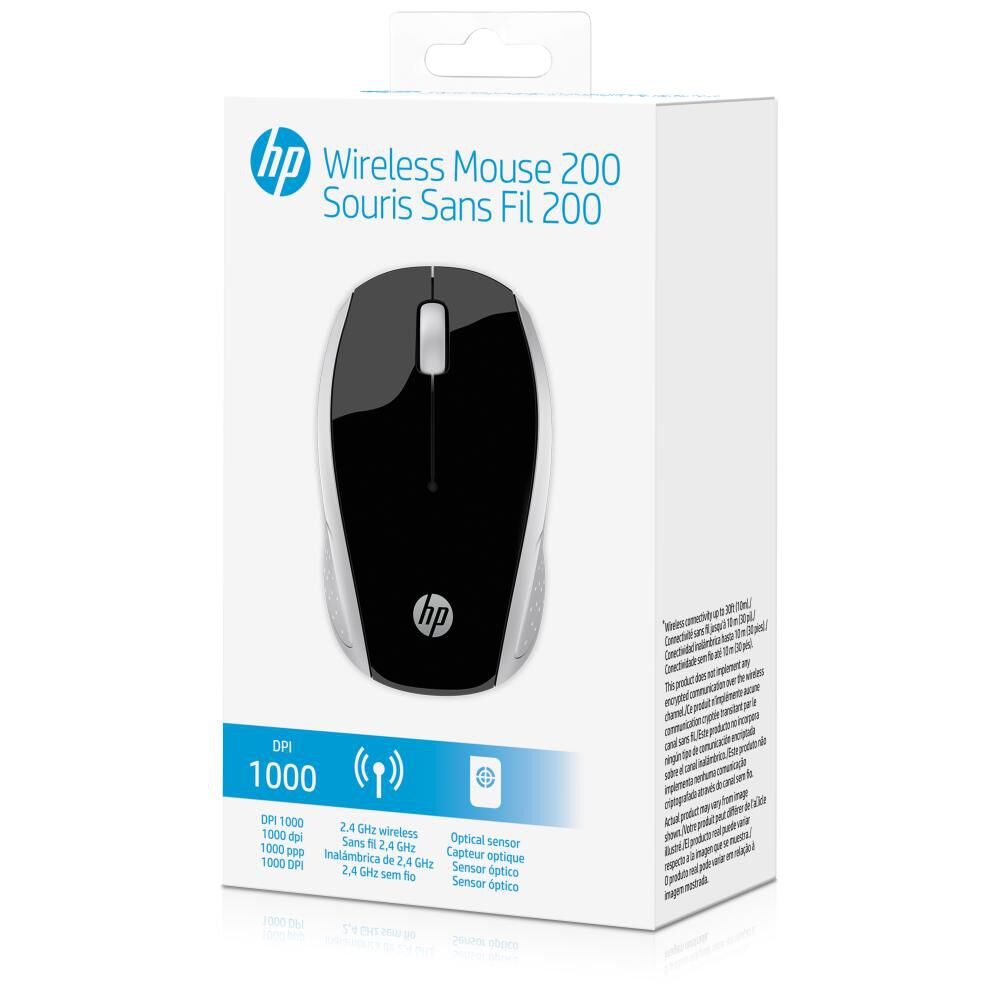 Mouse Inalambrico Hp 200 image number 3.0