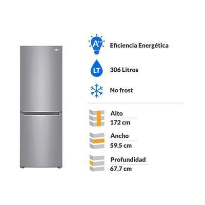 Refrigerador LG LB33MPP / No Frost / 306 Litros