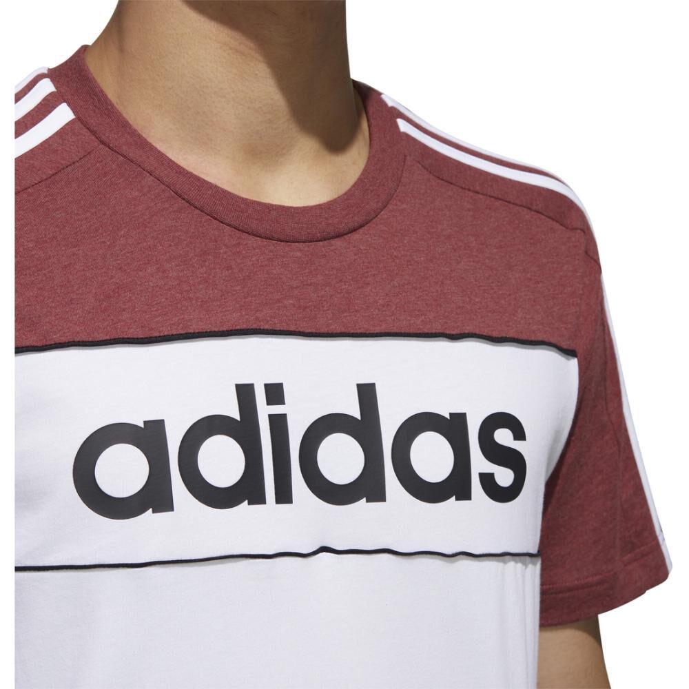 Polera Hombre Adidas Camiseta Essentials Tape image number 6.0