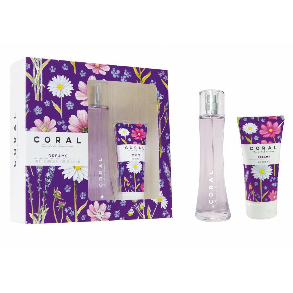 Estuche Colonia Coral Dreams / 100 Ml + Pomo Crema image number 0.0