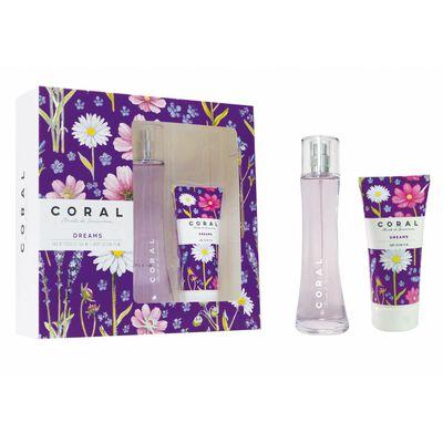 Estuche Colonia Coral Dreams / 100 Ml + Pomo Crema