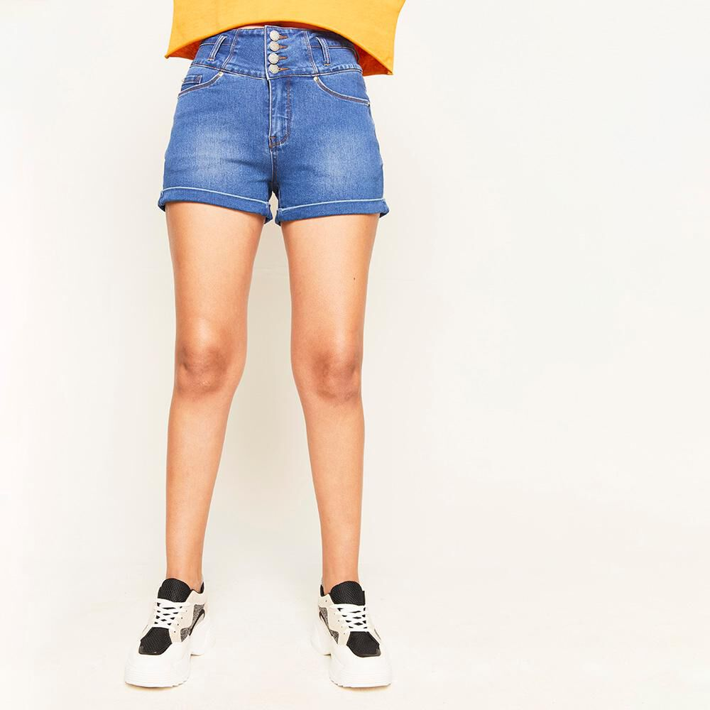 Short Pretina Alta Escultural Mujer Rolly Go image number 0.0