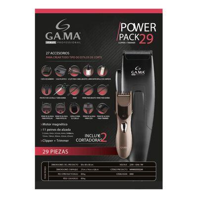 Combo Gama Clipper Gm 562 / 29 Piezas