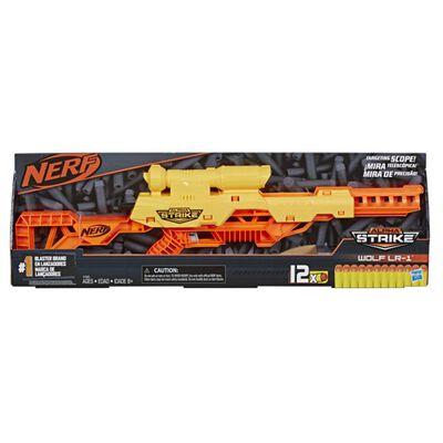 Lanzardor De Dardos Nerf Nerf Alphastrike Wolf Lr-1