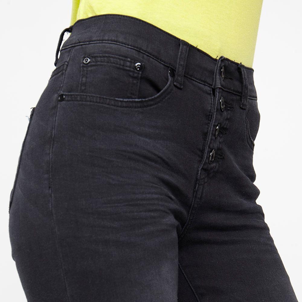 Jeans Mujer Tiro Alto Flare Kimera image number 3.0
