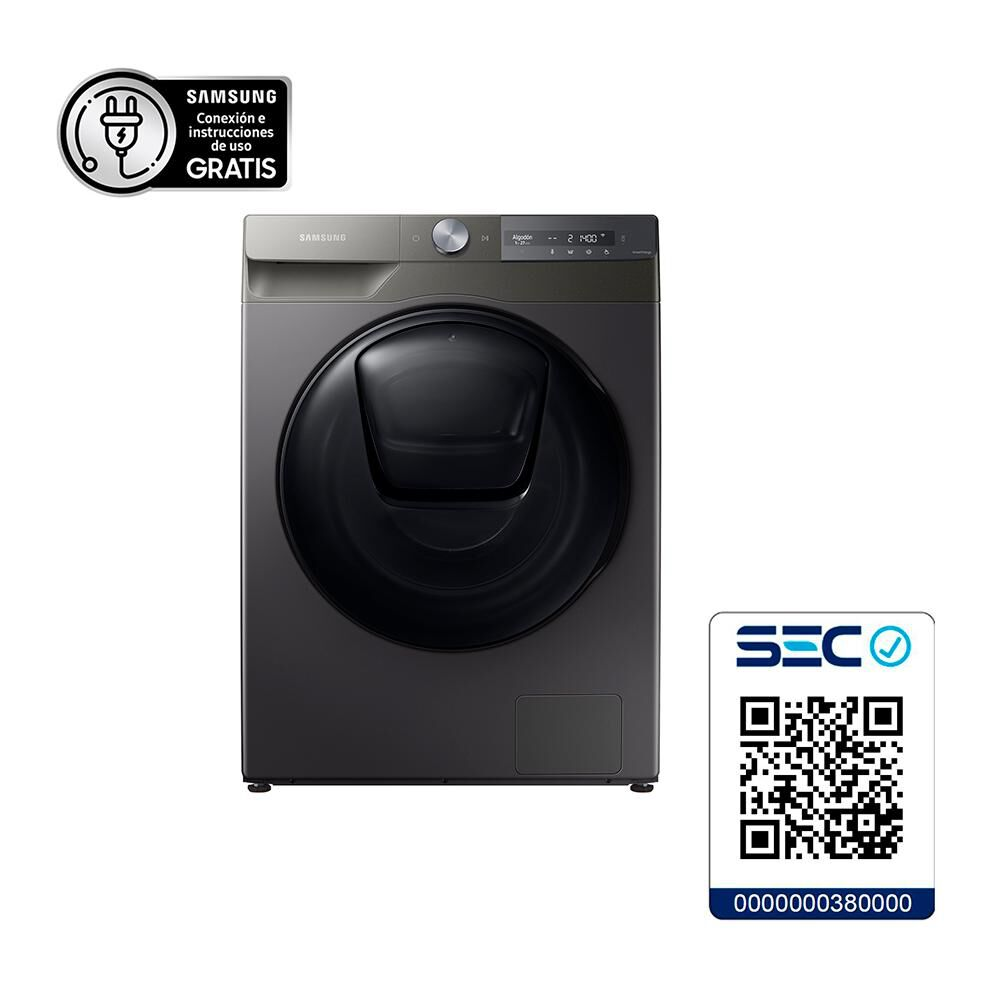 Lavadora Secadora Samsung Wd12t754dbn/zs 12.5 Kilos / 7 Kilos image number 12.0