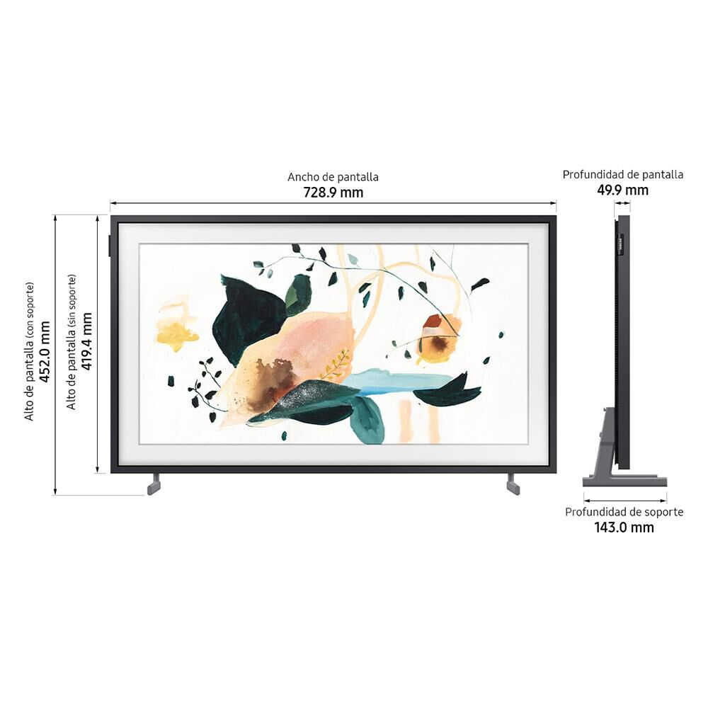 QLED Samsung The Frame / 32'' / Full HD / Smart Tv image number 4.0