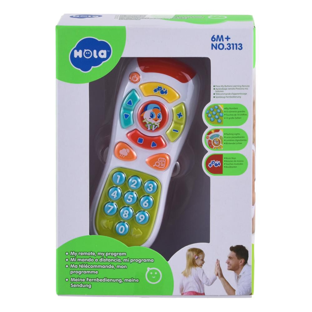 Control Remoto Musical Interactivo Baby image number 4.0