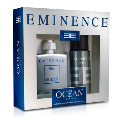 Set De Perfumería Ocean Sense Eminence / 100 Ml / Eau De Parfum + Desodorante Spray 160ml