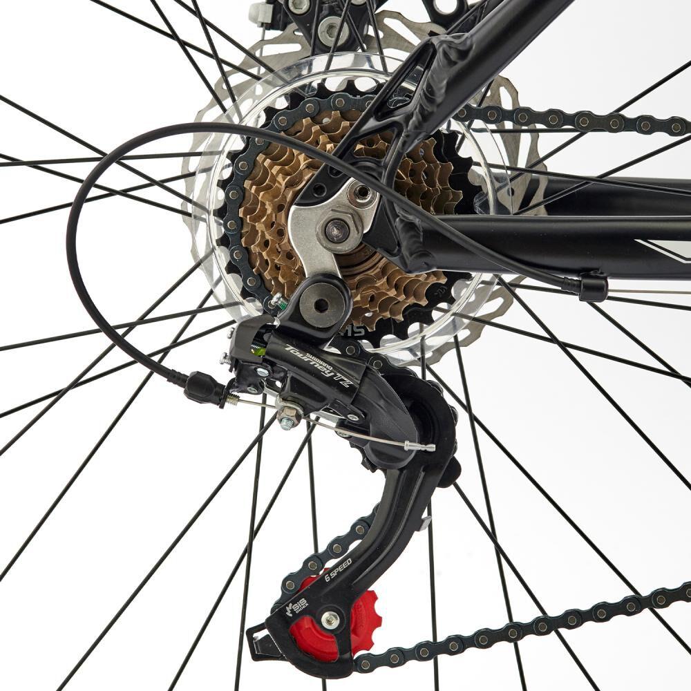 Bicicleta Mountain Bike Bianchi Advantage 27,5 Sx Negro Semi Matte / Blanco / Aro 27.5 image number 3.0