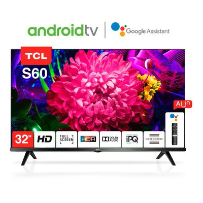 """Led TCL 32S60 / 32""""/ HD / Android Tv"""