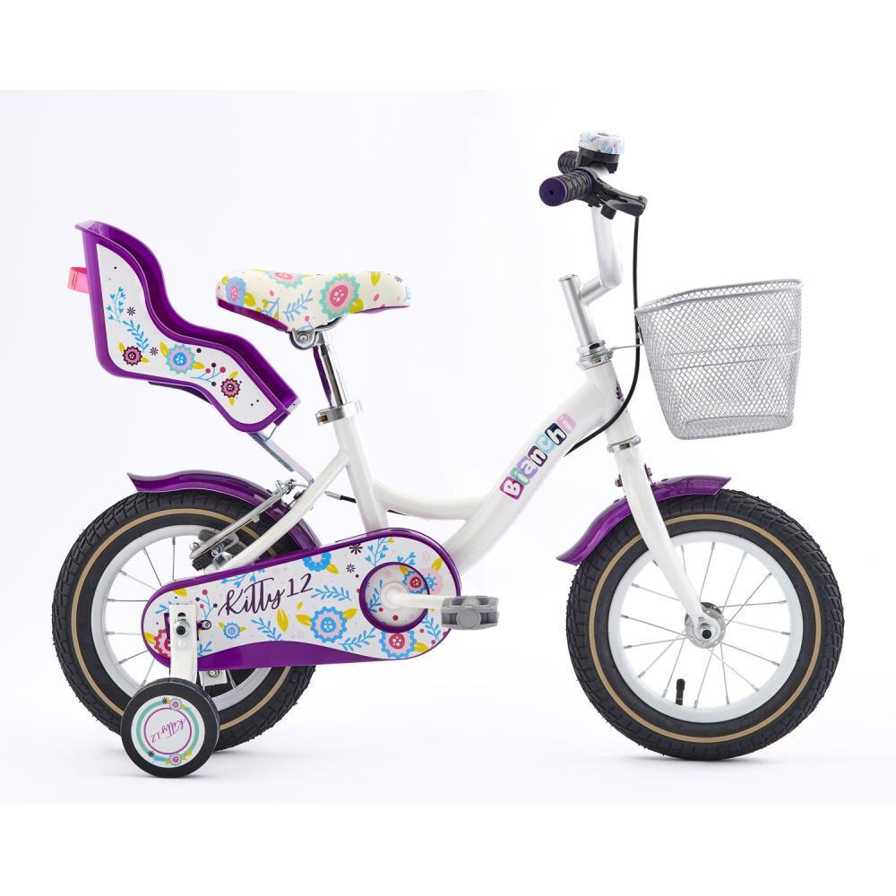 Bicicleta Infantil Bianchi Kitty / Aro 12 image number 0.0