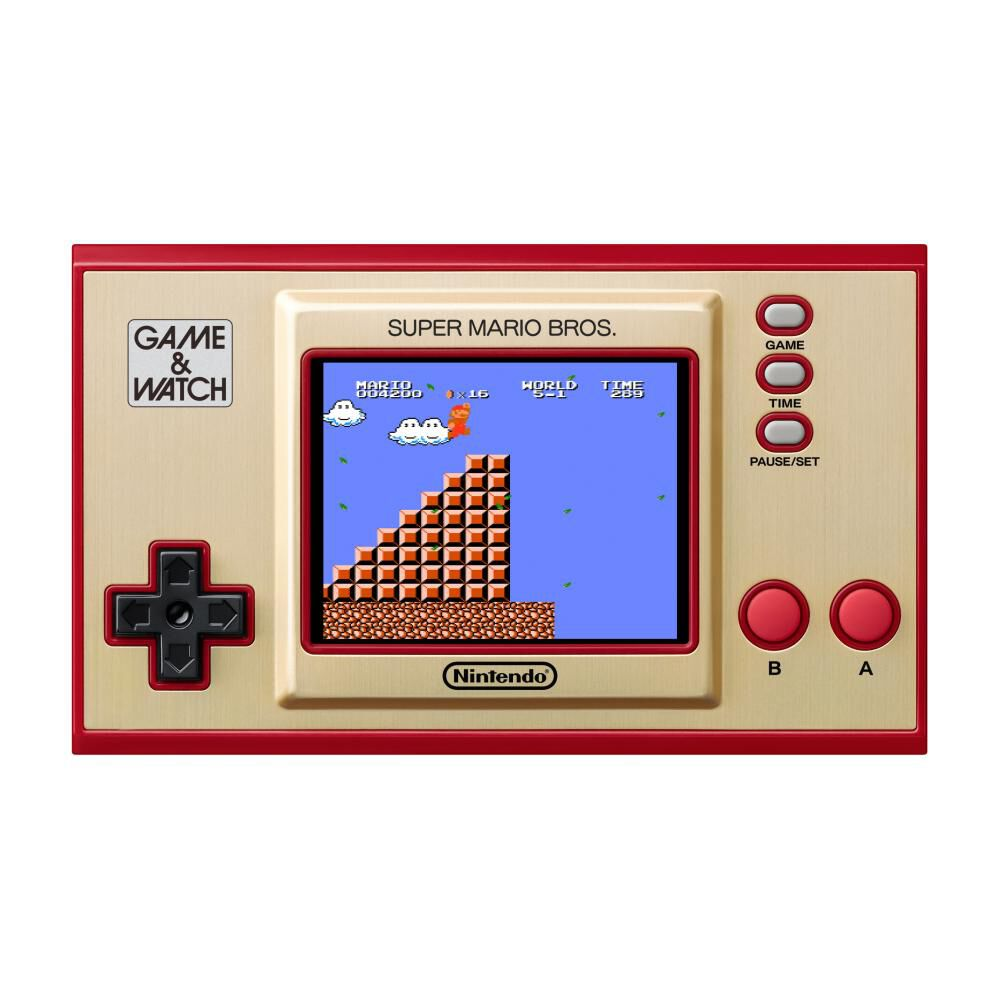 Mini Consola Game & Watch Super Mario Bros image number 3.0
