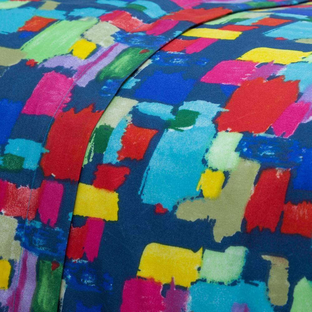 Juego De Sábanas Casaideal Mosaico 1,5 / 1.5 Plazas image number 2.0