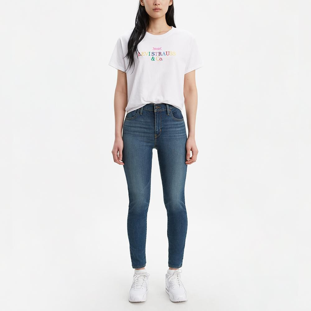 Jeans Mujer Super Skinny Tiro Alto Levi's 720 image number 0.0