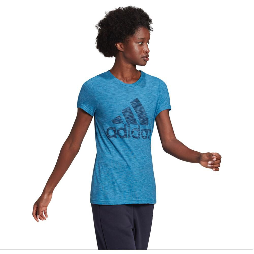 Polera Mujer Adidas W Winners Short-sleeve Crew Tee image number 1.0