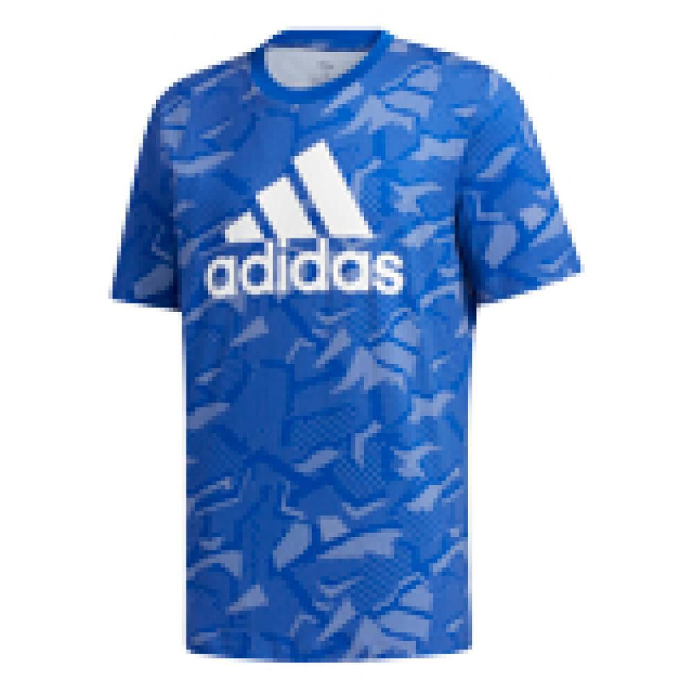 Polera Hombre Adidas Essentials Allover Print image number 7.0
