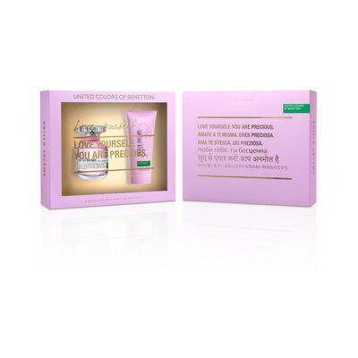 Set Benetton United Dreams Love Estuche Edt 80 Ml + Body Lotion 75 Ml