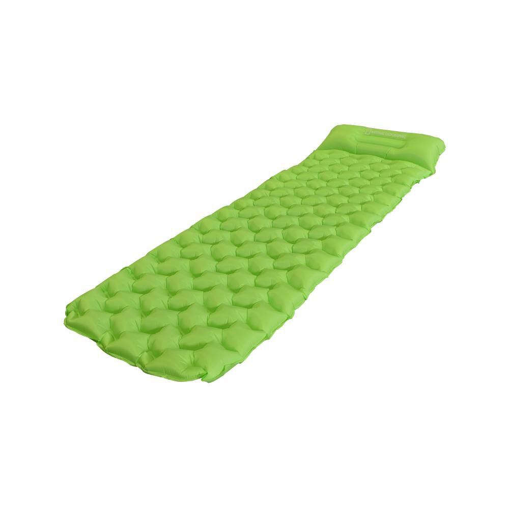 Colchoneta Ultralight Pro Verde Fluor National Geographic image number 0.0