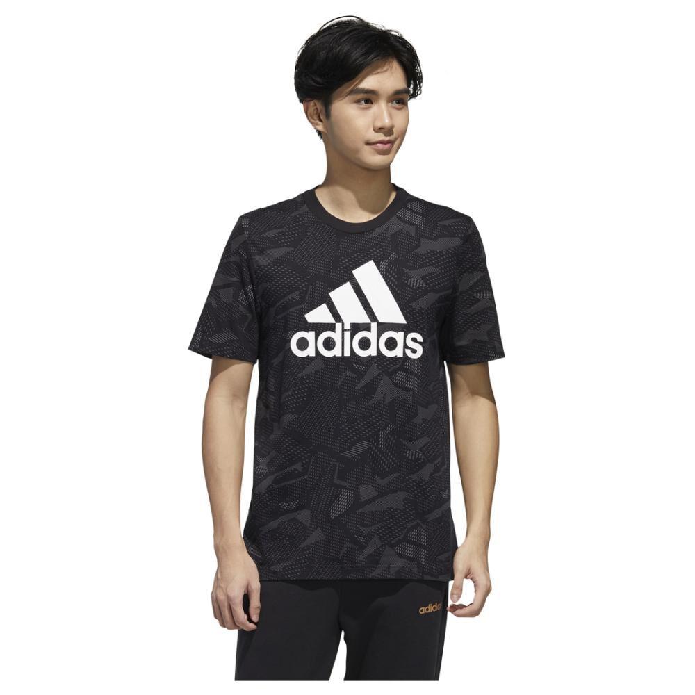 Polera Hombre Adidas Mens Essentials Aop T-shirt image number 0.0