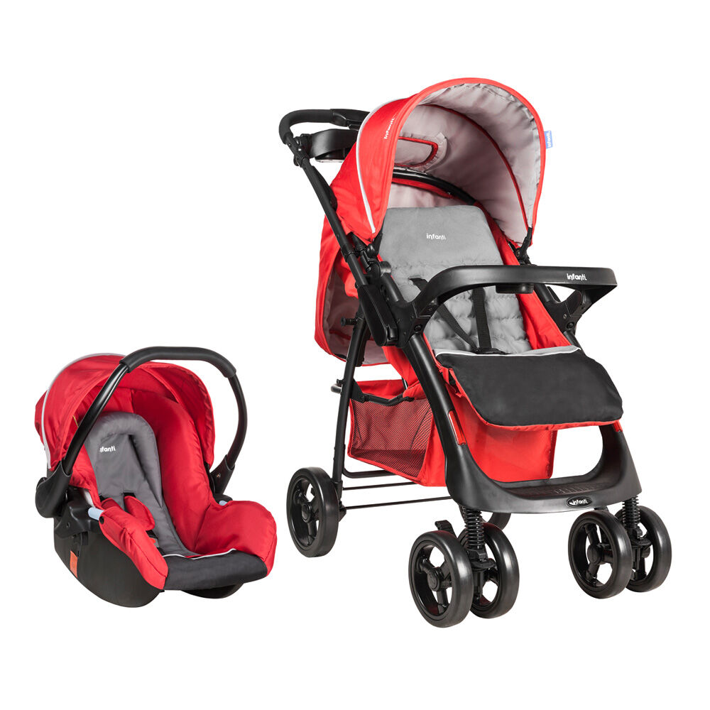 Coche Travel System Andes Mist Red Infanti image number 0.0